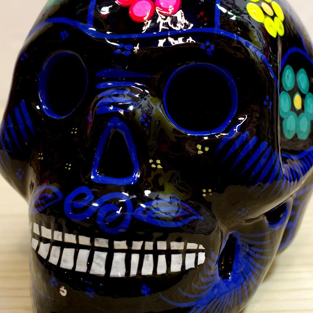 メキシカンスカル スカル メキシコ ガイコツ カラベラ ドクロ オブジェ 置物 インテリア インテリア雑貨 スカル雑貨 スカルのインテリア シュガースカル