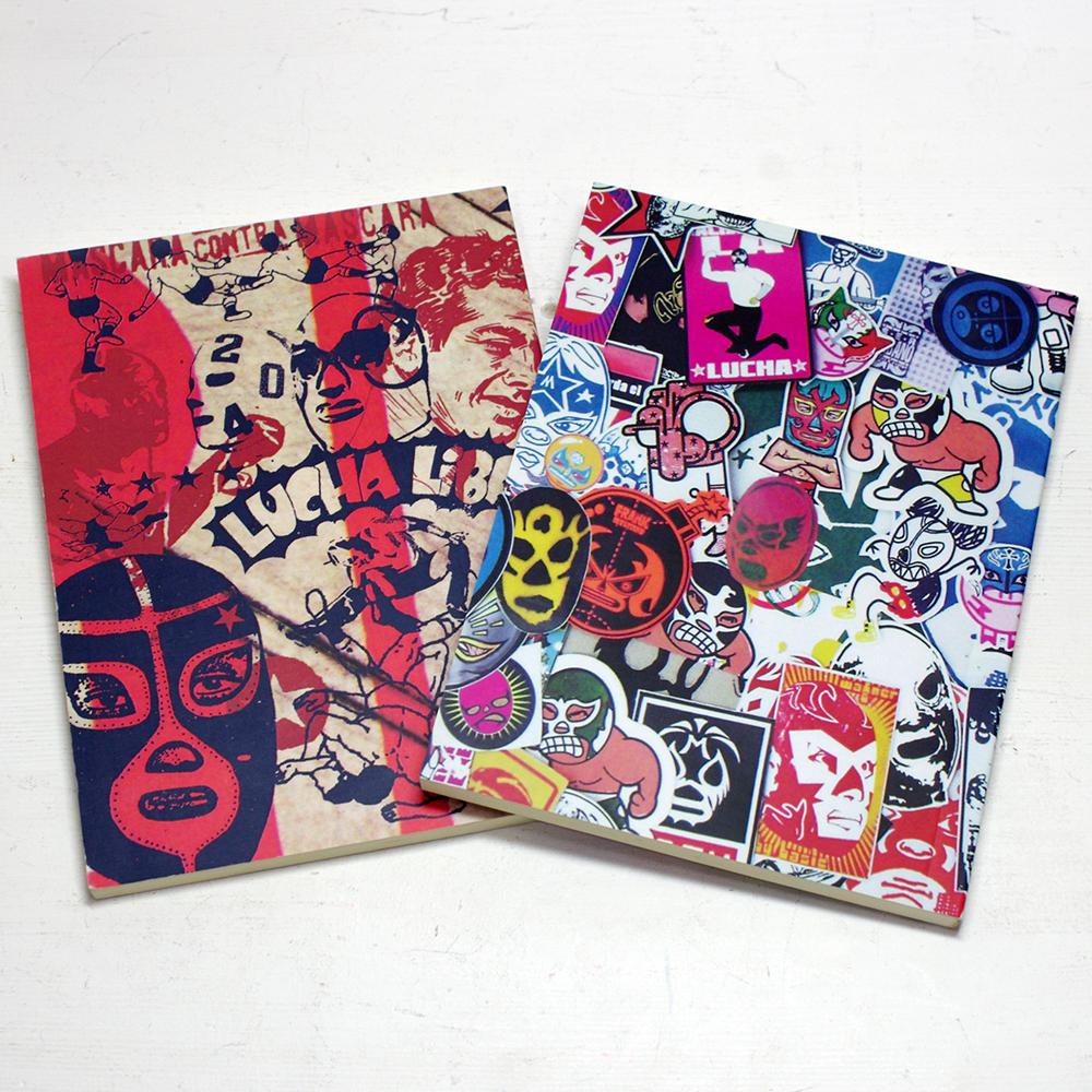 プロレス メキシコ ルチャリブレ ノート メモ 文具 雑貨 ステーショナリー PAD メキシコ雑貨