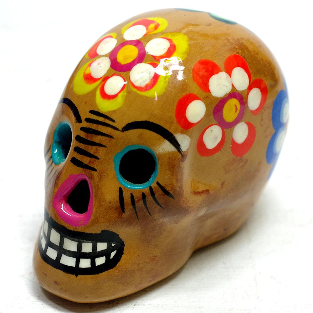 メキシコ メキシコ雑貨 メキシコ雑貨PAD メキシカンスカル スカル メキシコ ガイコツ カラベラ ドクロ オブジェ 置物 インテリア インテリア雑貨 スカル雑貨 スカルのインテリア 死者の日 死者の国 シュガースカル リメンバーミー