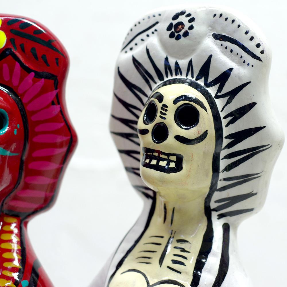 メキシコ メキシコ雑貨 メキシコ雑貨PAD メキシカンスカル スカル メキシコ ガイコツ カラベラ ドクロ オブジェ 置物 アートボトル 手作り ハンドメイド ボトルアート 飾り インテリア インテリア雑貨 スカル雑貨 スカルのインテリア 死者の日 死者の国 シュガースカル リメンバーミー