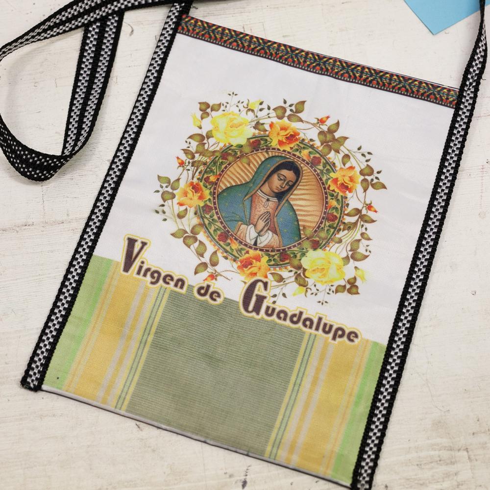 メキシコ雑貨,グアダルーペバッグ,マリアバッグ,カバン,斜めがけバッグ
