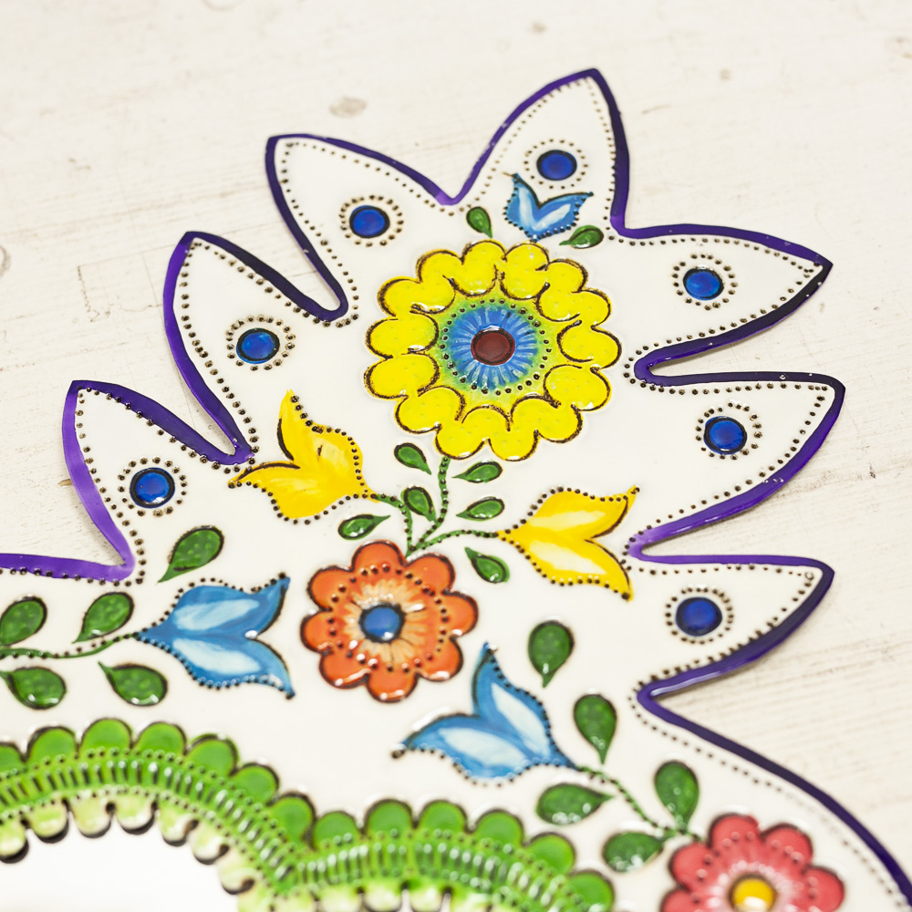 """""""鏡,ミラー,壁掛け,壁飾り,飾り,メキシコ,手作り,ハンドメイド,インテリア,インテリア雑貨,壁掛け,メキシコ雑貨,メキシコ雑貨PAD,ウォールミラー,カラフルミラー"""