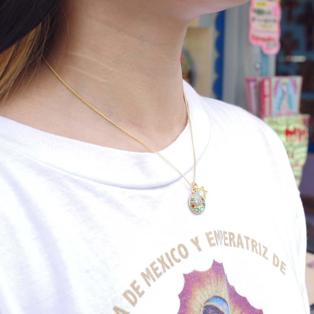 目玉アクセサリー,目玉ネックレス,フリーメイソン,プロビデンスの目,秘密結社,ホルスの目,アムレットネックレス,アムレット,アムレットアクセ,シャーマン,お守りネックレス,ネックレス,メキシコ雑貨