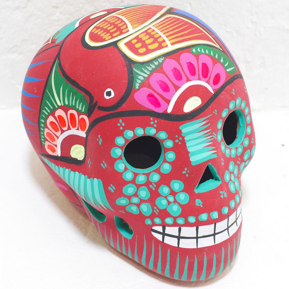 メキシコ,メキシコ雑貨,メキシコ雑貨,PAD,メキシカンスカル,スカル,メキシコ,ガイコツ,カラベラ,ドクロ,オブジェ,置物,インテリア,インテリア雑貨,スカル雑貨,スカルのインテリア,死者の日,死者の国,シュガースカル,リメンバーミー