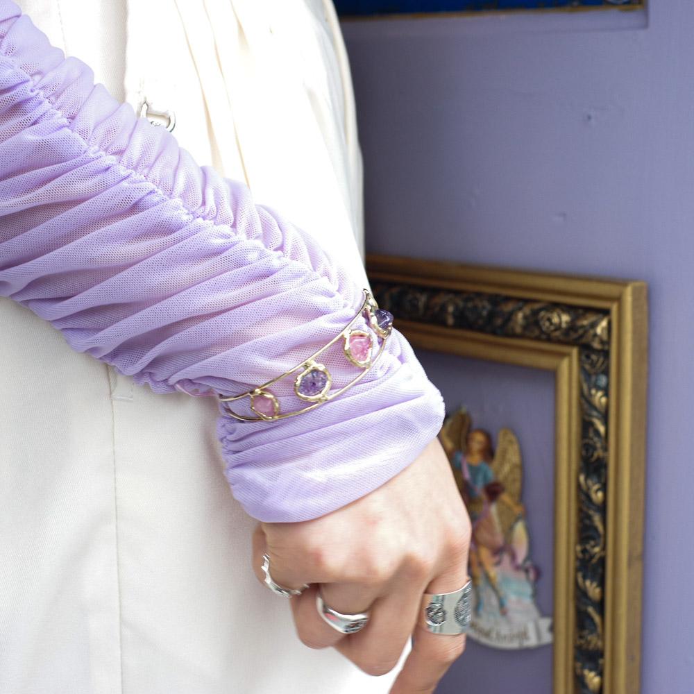 """""""天然石,フリーザイズブレス,カトリック,チェーンブレスレット,マリア様ブレス,アクセサリー,ブレスレット,バングル,メキシコ雑貨,メキシコ雑貨PAD"""""""