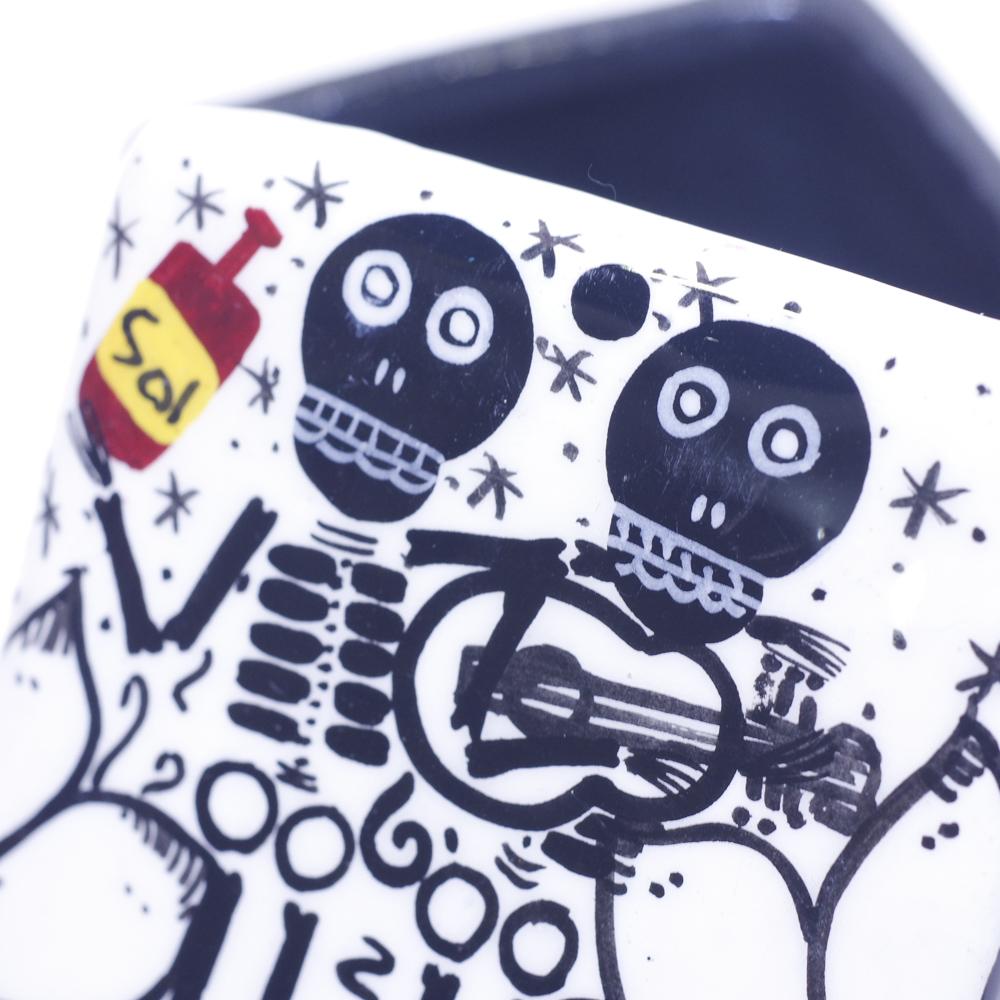 """""""メキシコ,メキシコ雑貨,メキシカンアート,スカル小物入れ,メキシカンペイント,アート,ペイント,絵画,アーティスト,メキシコ雑貨PAD,PAD堀江,PAD下北沢"""""""