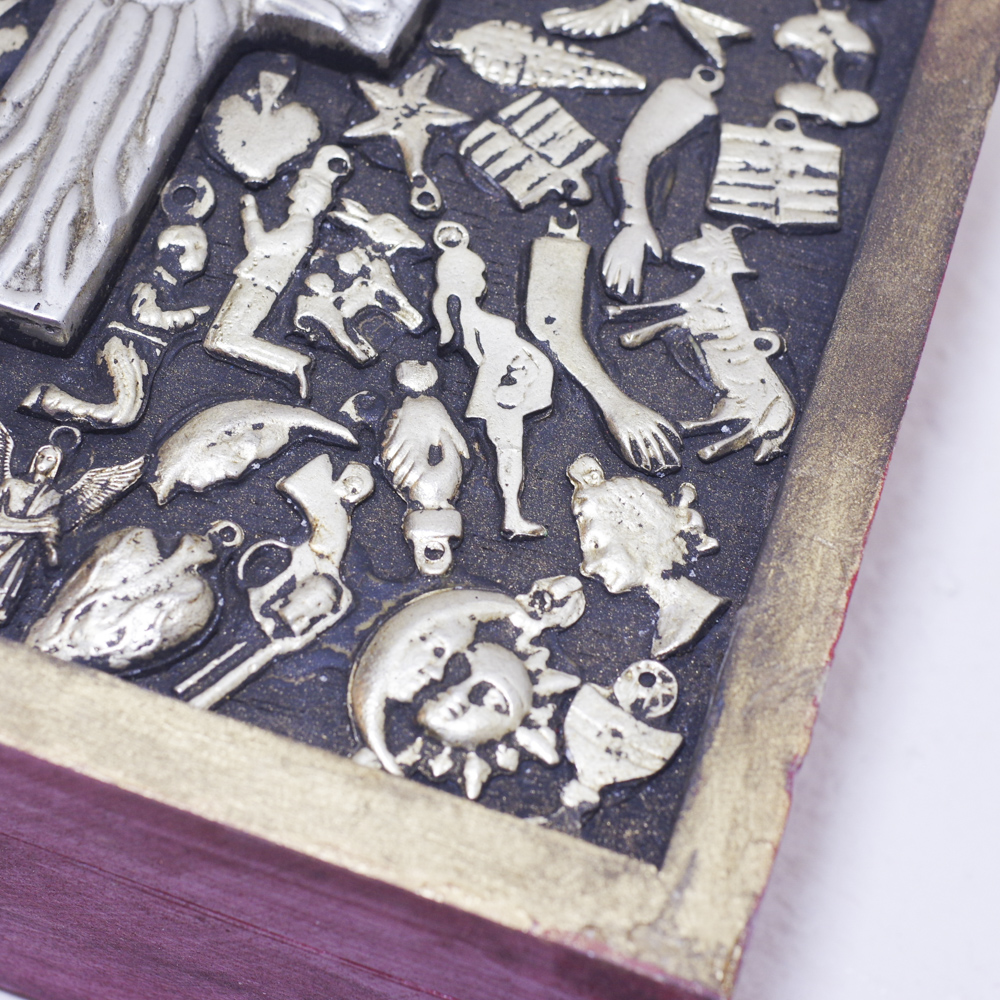 """""""クロス,十字架,ミラグロクロス,金箔,ゴールドクロス,ゴールド,コラソン,ハート,ミラグロ付きクロス,メキシコ雑貨,メキシコ,コラソンの壁飾り,ミラグロ,お守り,壁飾り,壁掛け,メキシコ雑貨PAD,PADメキシコ,PAD堀江,PAD下北沢,プレゼント,贈り物,ギフト,インテリア雑貨,インテリア"""""""