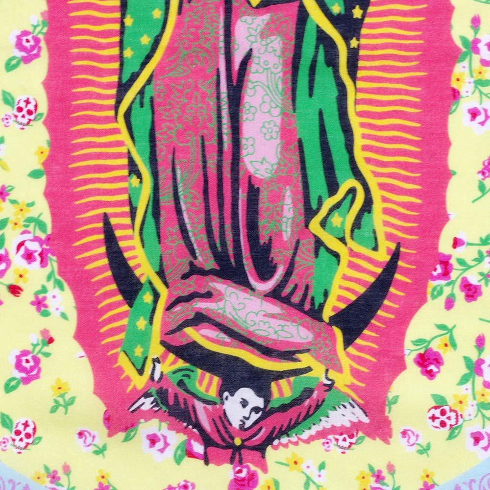 """""""メキシコ,グラフィック,デザイン,バンダナ,bandana,スカーフ,ハンカチ,ヘアバンド,ヘアアクセ,ヘアアレンジ,バンダナアレンジ,ターバン,ファッション,オリジナル,オリジナルデザイン,限定品,フレンジーワークス,FRENZY"""