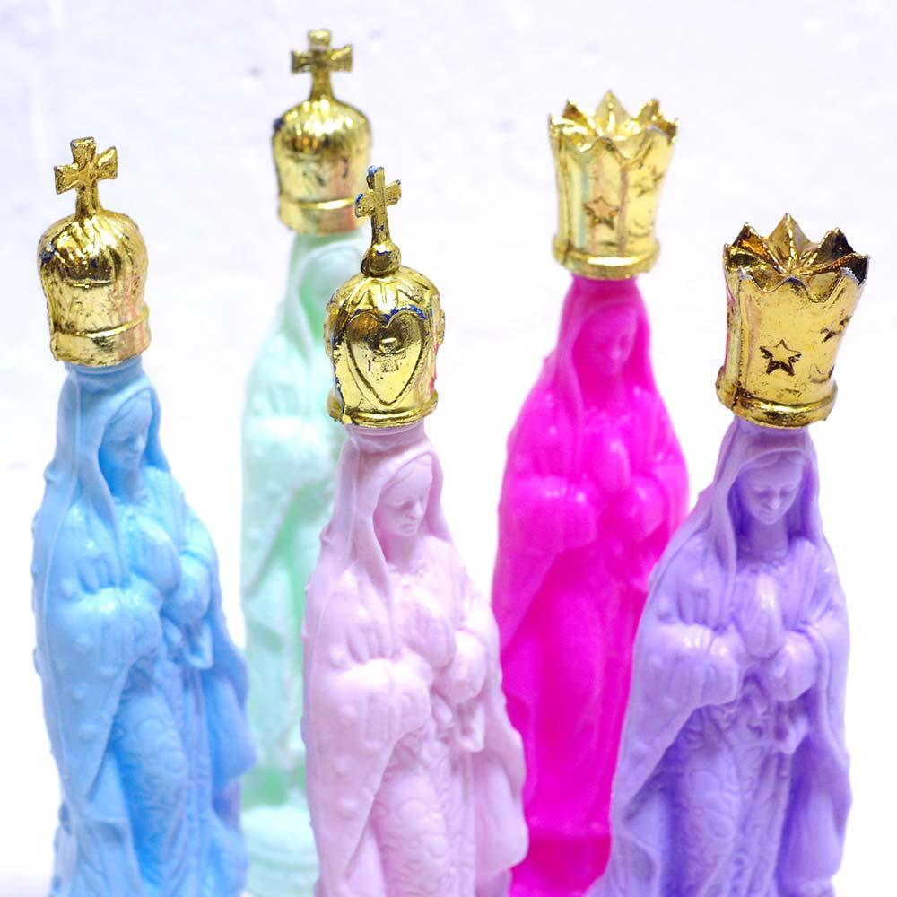 """""""マリアボトル,マリア,グアダルーペ,聖水,ボトル,オブジェ,フィギュア,人形,ドール,マリアドール,聖母像,置物,飾り,インテリア雑貨,聖母,褐色の聖母,マリア雑貨,マリアグッズ,マリアインテリア,メキシコ,雑貨,メキシコ雑貨,メキシコ雑貨PAD,インテリア"""""""