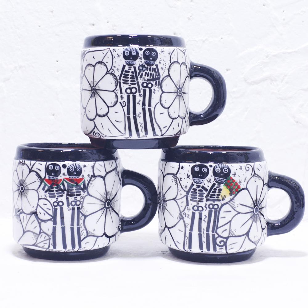 メキシコ雑貨,マグカップ,MUG,MUG CUP,CUP,メキシコ,プレゼント,ギフト,手作り,花柄,素焼き,マグ,キッチン雑貨,コーヒー カップ,関ジャニ,コーヒーカップ,お揃い