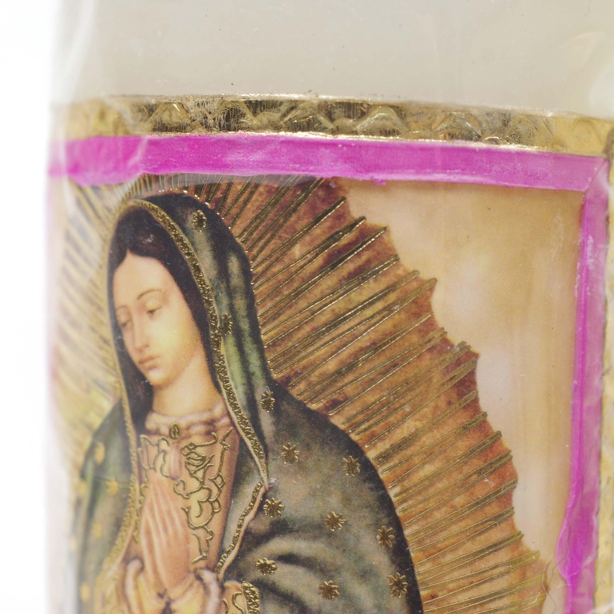 """""""教会キャンドル,キャンドル,ろうそく,ロウソク,蝋燭,お祈り,教会,メキシコ雑貨,メキシコ雑貨PAD"""""""