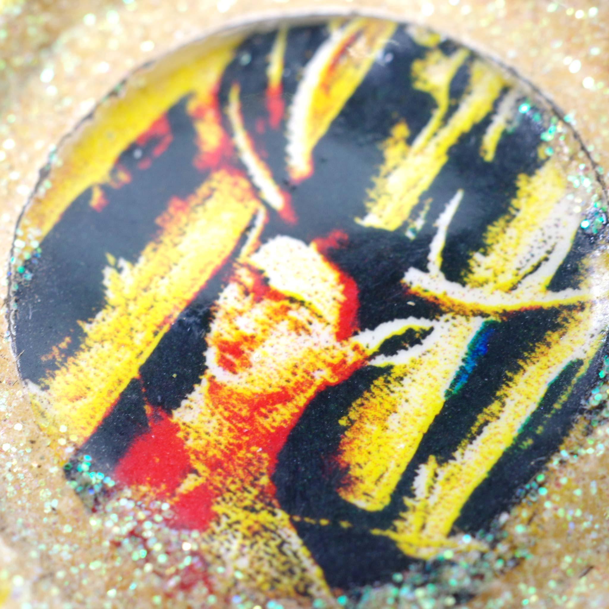 """""""王冠ピアス,王冠,フリーダカーロ,フリーダ,リサイクル,手描き,イヤリング,ピアス,メキシコ雑貨,メキシコ雑貨PAD"""""""