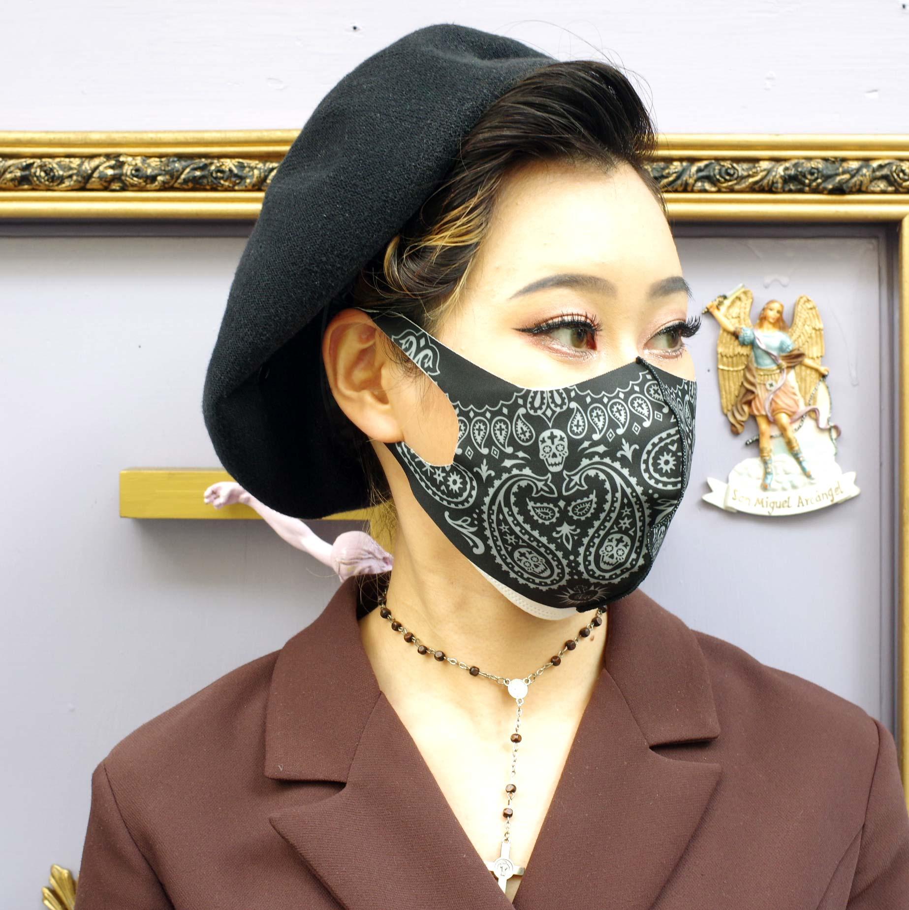 """""""PADマスク,マスク,衛生用マスク,布マクス,エコマスク,おしゃれ,洗える,ウォッシャブル,繰り返し使えるマスク,メキシコ雑貨,メキシコ雑貨PAD"""""""