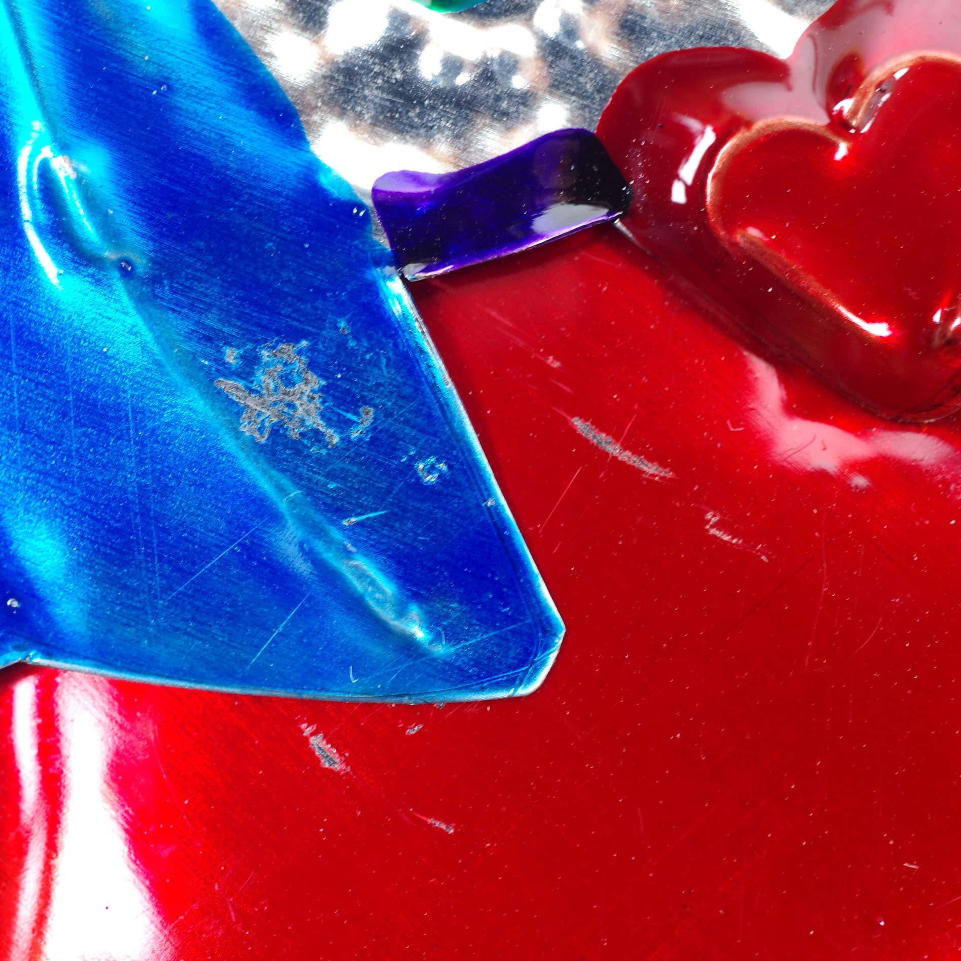 """""""オハラタハートS,ハート,コラソン,心臓,聖心,御心,オハラタ,オアハカ,インテリア,壁掛け,飾り,メキシコ,インテリア雑貨,壁飾り,メキシコ雑貨,メキシコ雑貨PAD"""""""